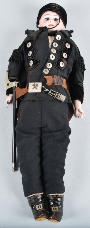 BISQUE SOLDIER DOLL, 19