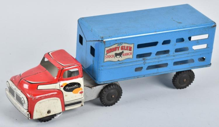 WYANDOTTE SHADY GLEN TRUCK and TRAILER