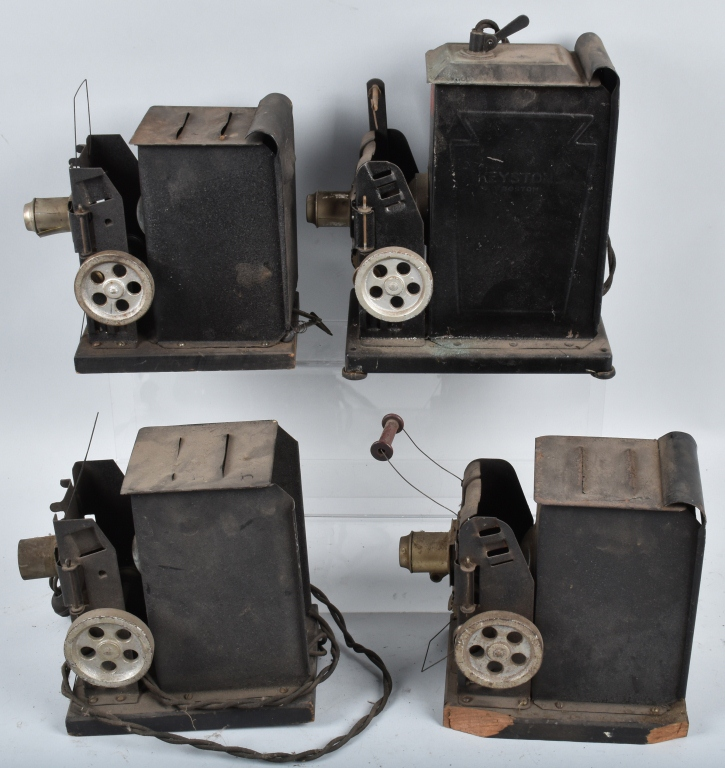 4-KEYSTONE  8MM PROJECTORS, VINTAGE