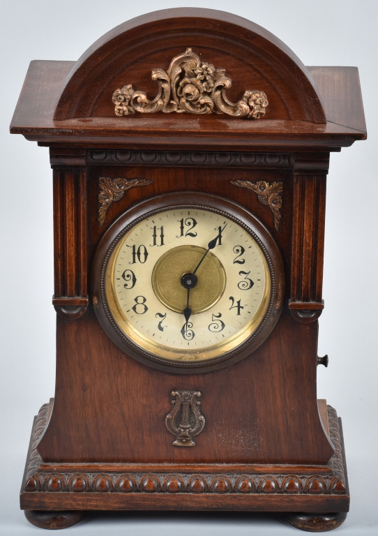 CLOCK with MUSIC BOX, VINTAGE