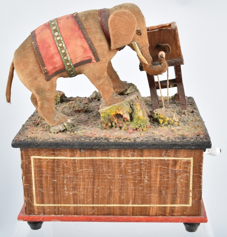 ELEPHANT AUTOMATON MUSIC BOX