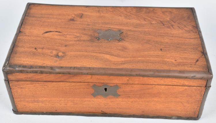 19th CENTURY CHERRY LAP DESK