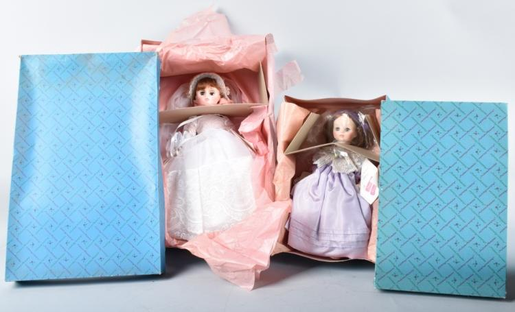 2- MADAME ALEXANDER DOLLS, BOXED