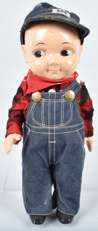 BUDDY LEE HARD PLASTIC DOLL, VINTAGE