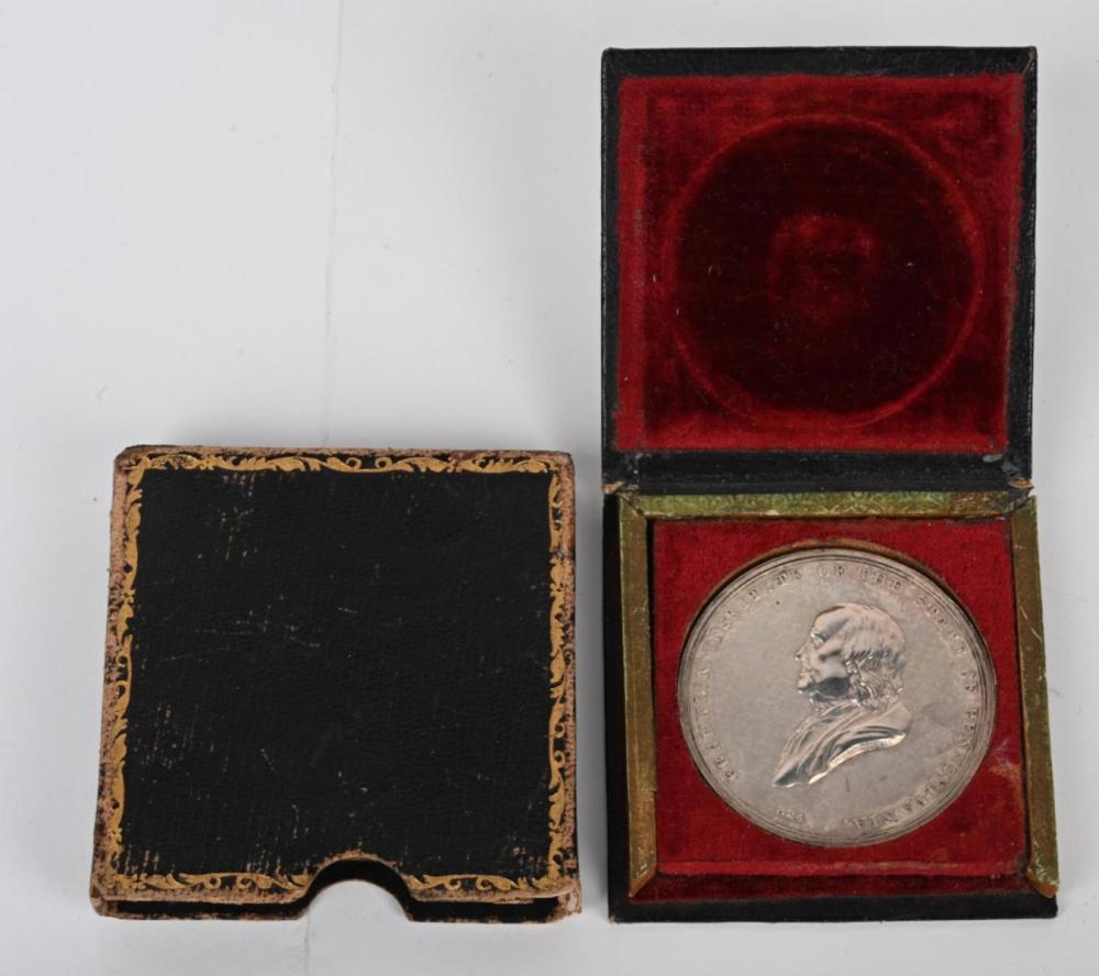 1852 FRANKLIN INSTITUTE AWARD MEDAL PHILADELPHIA