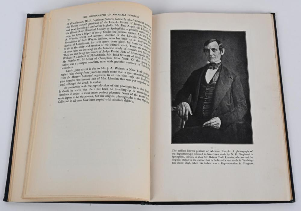 1944 THE PHOTOGRAPHS OF ABRAHAM LINCOLN