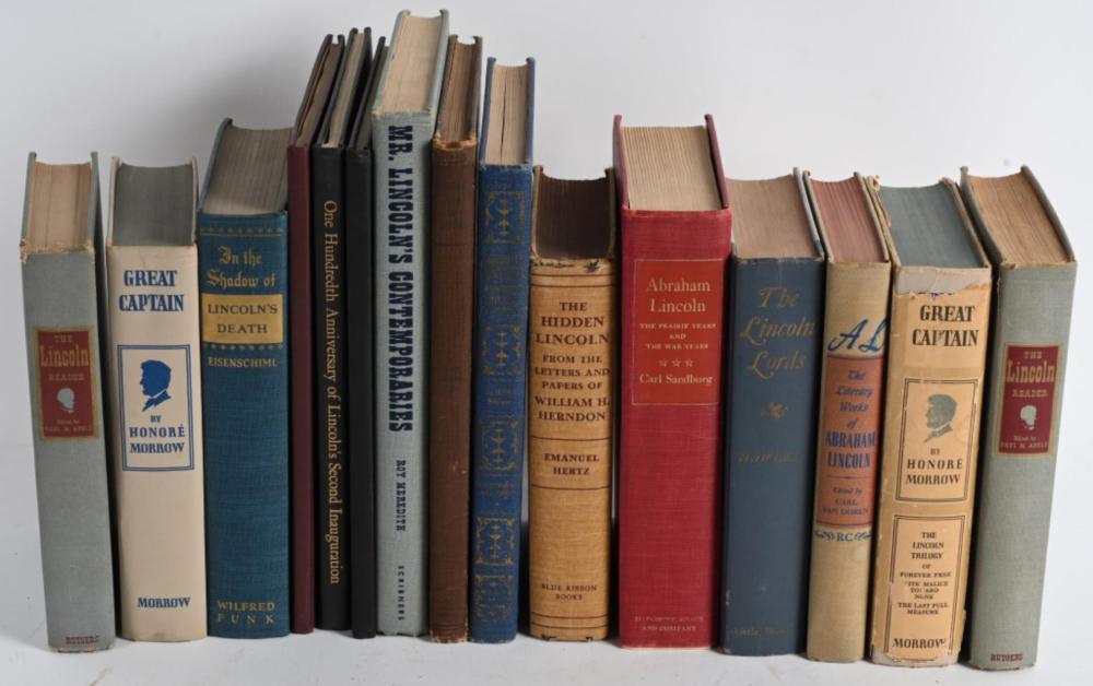 15-ABRAHAM LINCOLN BOOKS
