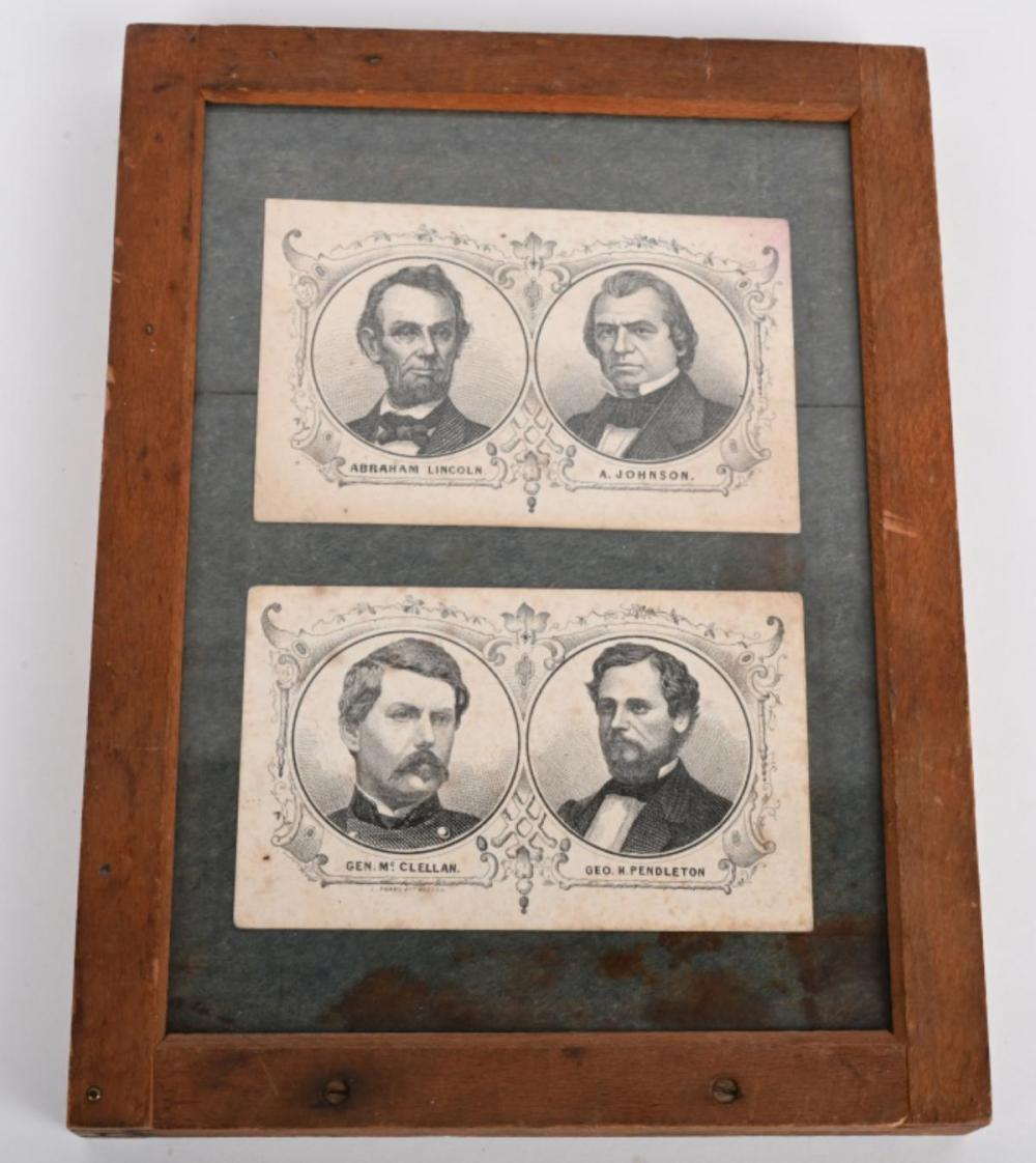 1864 PRESDENTIAL ELECTION CANDIDATES