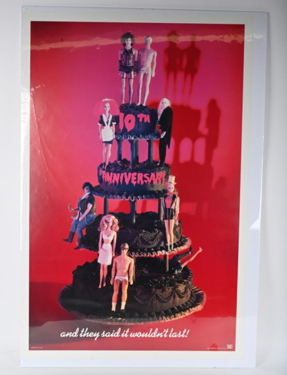 ROCKY HORROR PICTUE SHOW 10TH ANNIVERSARY POSTER