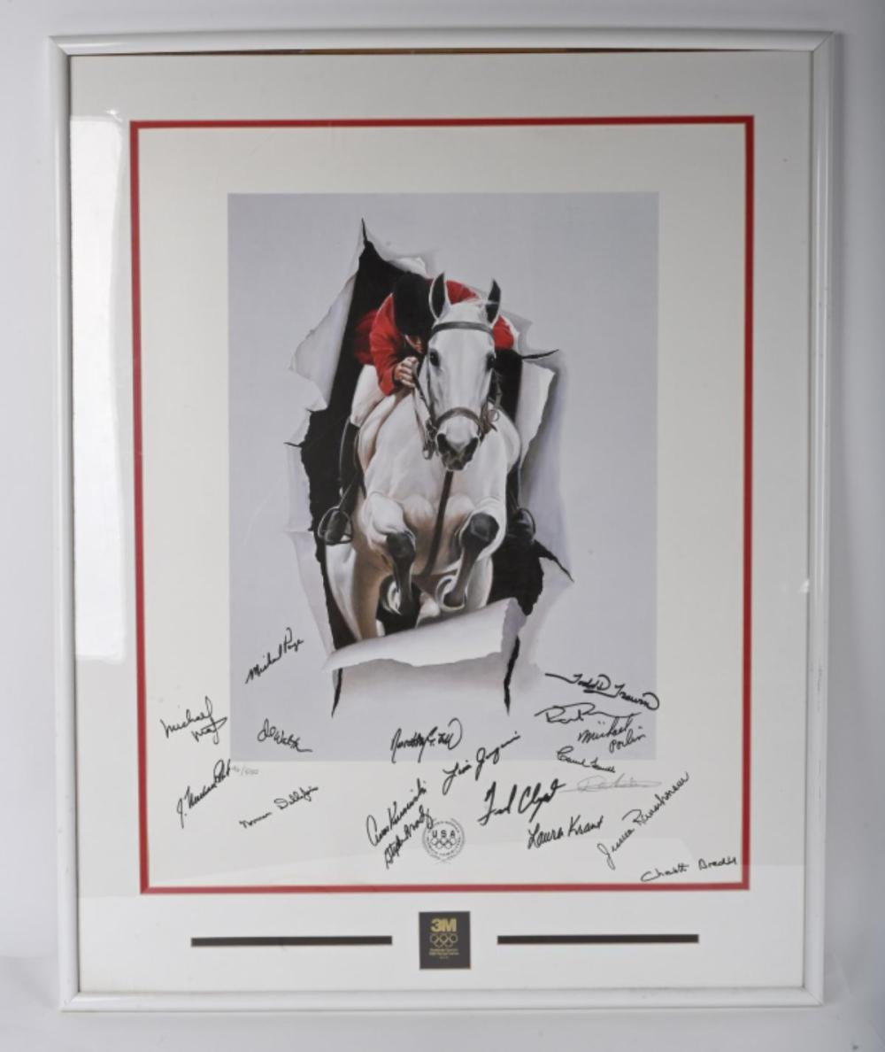 1992 OLYMPICS EQUESTRIAN POSTER 96/550