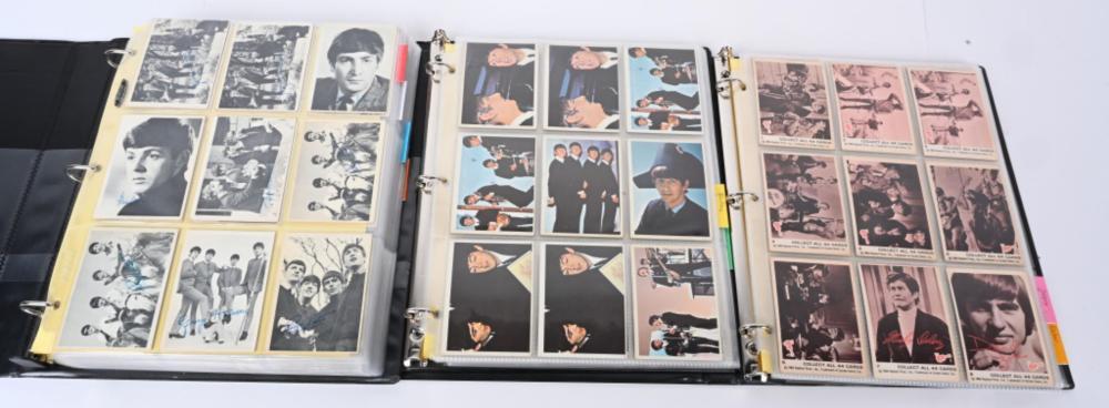 LOT(550 PLUS) 1964-1967 BEATLES MONKEES CARDS
