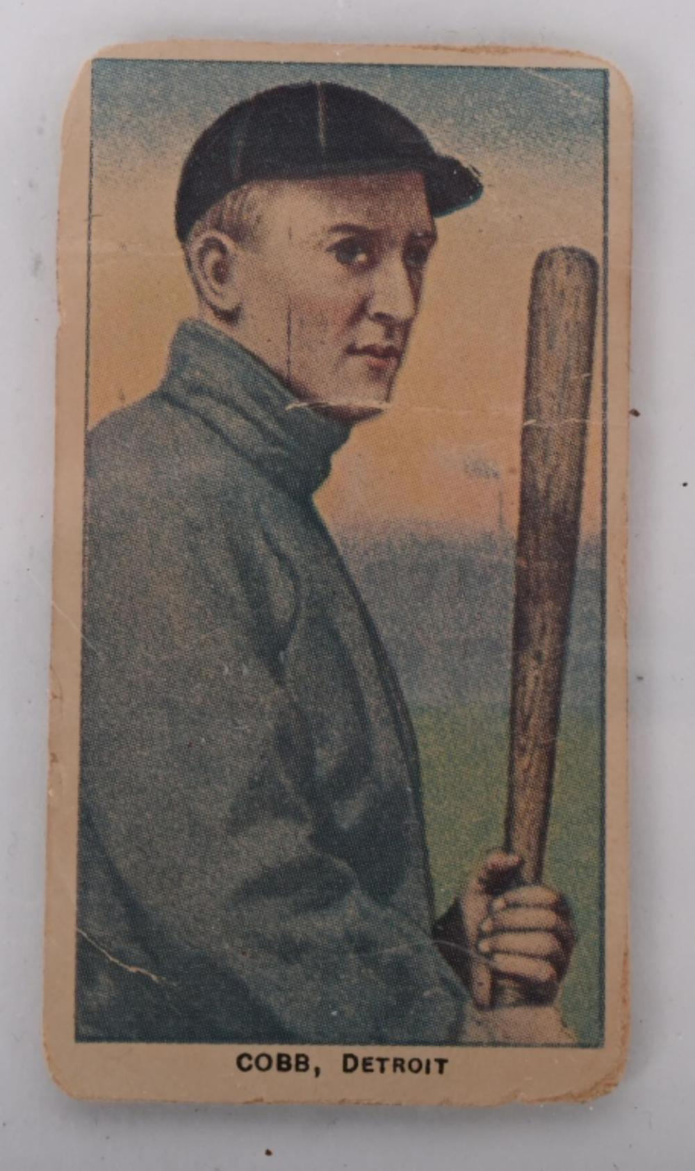 SWEET CAPORAL T-206 TY COBB TOBACCO CARD