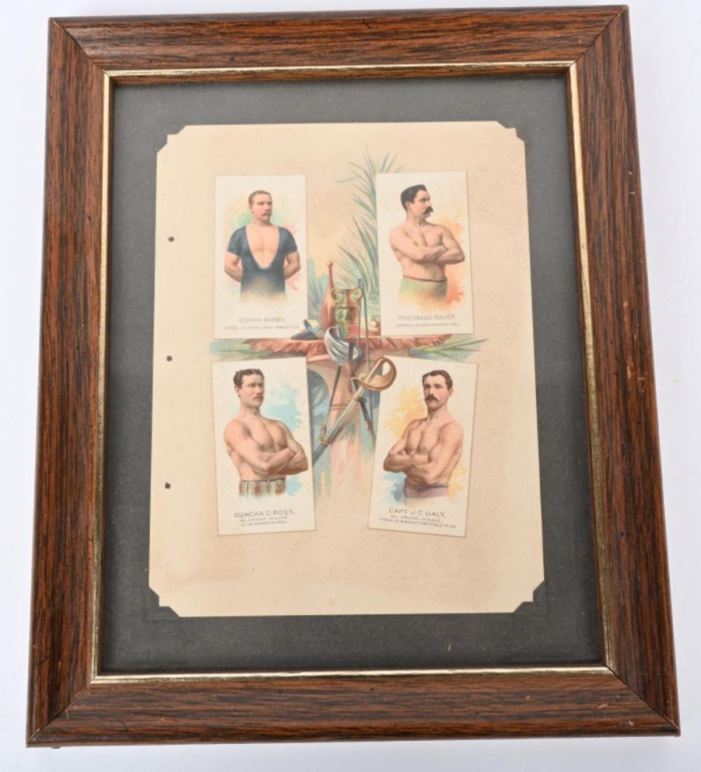 1888 ALLEN & GINTER A-16 PREMIUM ALBUM PAGE