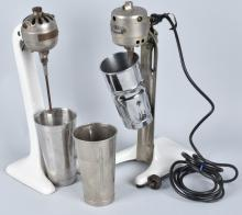 2-VINTAGE MILK SHAKE MIXERS, GILCHRIST & MORE