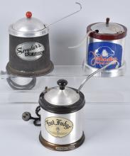 3-ICE CREAM PARLOR HOT FUDGE WARMERS