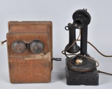 AMERICAN BELL CANDLESTICK TELEPHONE