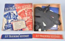 WW2 E-F TRAINING SEXTANT, BOXED