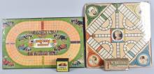 2-EARLY GAMES AUTO RACE and POLLYANNA