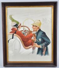 CIRCA 1915 AUTOMOTIVE POSTER, Clinton Pettee