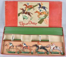 CHAD VALLEY UP and OVER HORSE RACE GAME, BOXED
