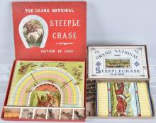 2-GRAND NATIONAL HORSE RACE GAMES, BOXED