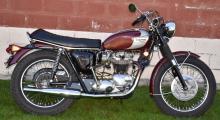 1970 TRIUMPH BONNEVILLE 650 MOTORCYCLE