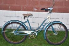 1950s COLUMBIA GIRLS BALLOON TIRE BICYCLE