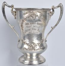 1913 JOHN HANDS 2 MILE CAR RACE TROPHY