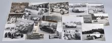 24- VINTAGE RACE CAR PHOTOS