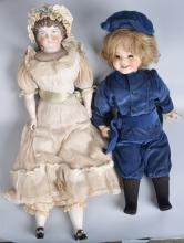 LOT BISQUE and CHINA DOLLS