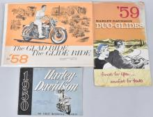 3-1950-1959 HARLEY DAVIDSON COLOR MANUALS