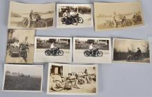 9- EARLY MOTORCYCLE PICTURES