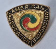 AMERICAN MOTORCYCLE ASSOCIATION PIN