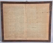 1800 ULSTER CO. GAZETTE GEORGE WASHINGTON OBIT