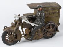 1930's HUBLEY HARLEY DAVIDSON PARCEL POST CYCLE