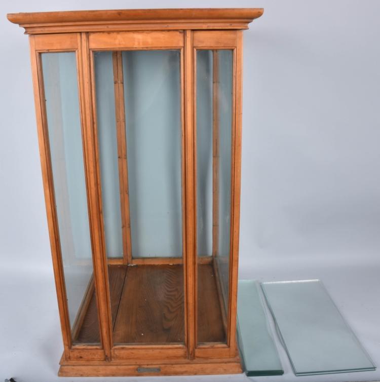 Pat 1895 Exhibition Oak Show Case