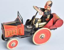 MARX Tin Windup COO COO CAR