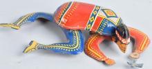 OHIO ART Tin Windup CRAWLING INDIAN