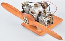 AERONCA 1/4 Scale 2 CYLINDER AIRPLANE ENGINE