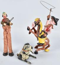 3-VINTAGE WINDUP TOYS, MARX and MORE