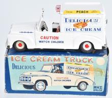 AHI Tin Friction DELICIOUS ICE CREAM TRUCK w/BOX