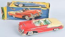 W GERMANY Tin Friction COMMANDER CAR w/ BOX