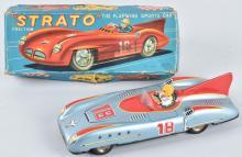 JAPAN Tin Friction STRATO RACE CAR w/ BOX