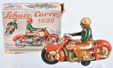 SCHUCO US Zone Windup CURVO 1000 MOTORCYCLE w/BOX