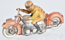 US ZONE GERMANY Tin Windup MOTORCYCLE