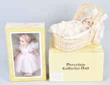 2-BOXED COLLECTORS DOLLS, EFFANBEE and MORE