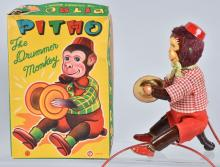 JAPAN Remote Toy PINTO THE DRUMMER MONKEY w/BOX