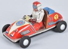 JAPAN Tin Friction #7 GO-CART RACER