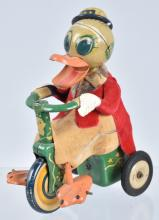 JAPAN Friction DUCK ON TRICYCLE