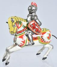 JAPAN Remote Toy KNIGHT ON HORSE